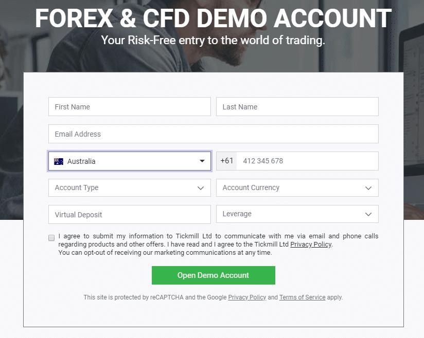 nyissa meg a demo számlát bináris opciókkal
