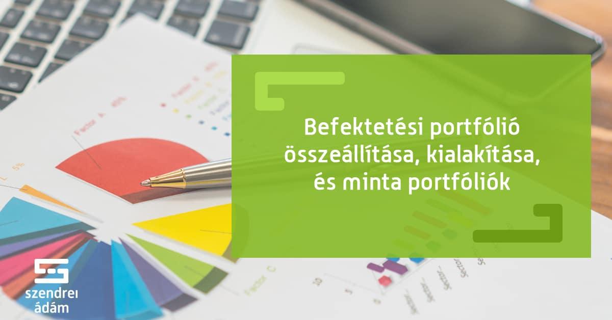 internetes befektetési portfóliók