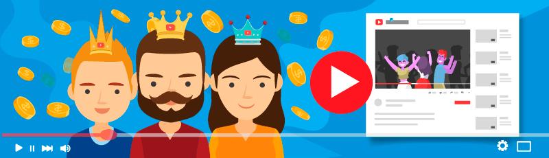 hogyan keresnek pénzt a youtube