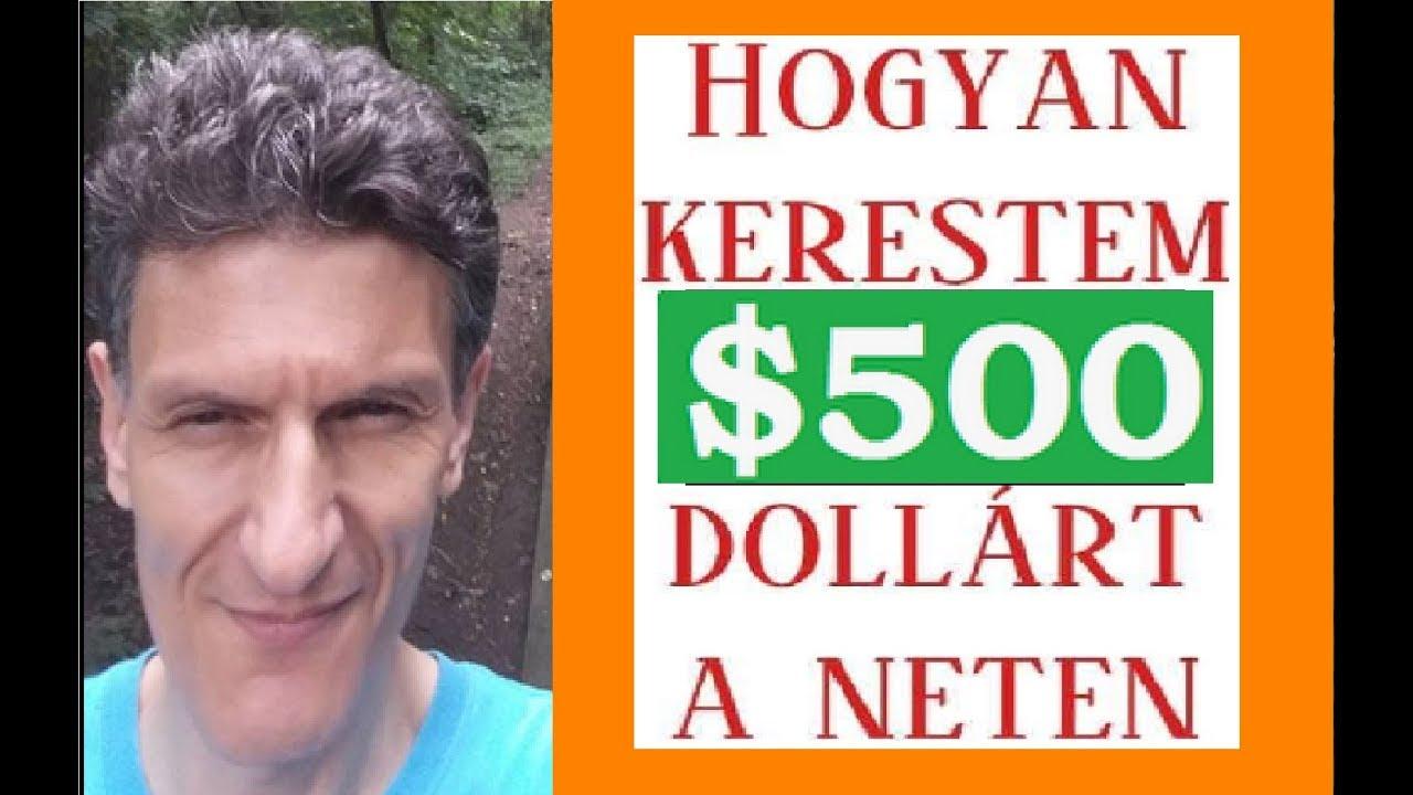 hogyan lehet pénzt keresni 500 dollárral)