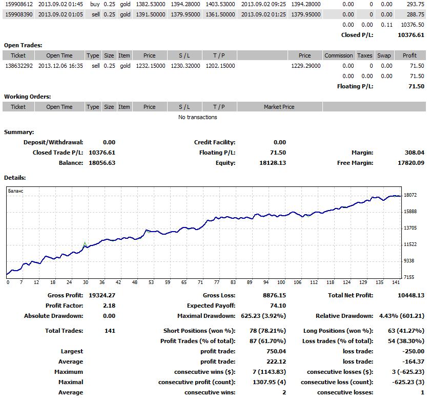 statisztikák és kereskedési robotok)