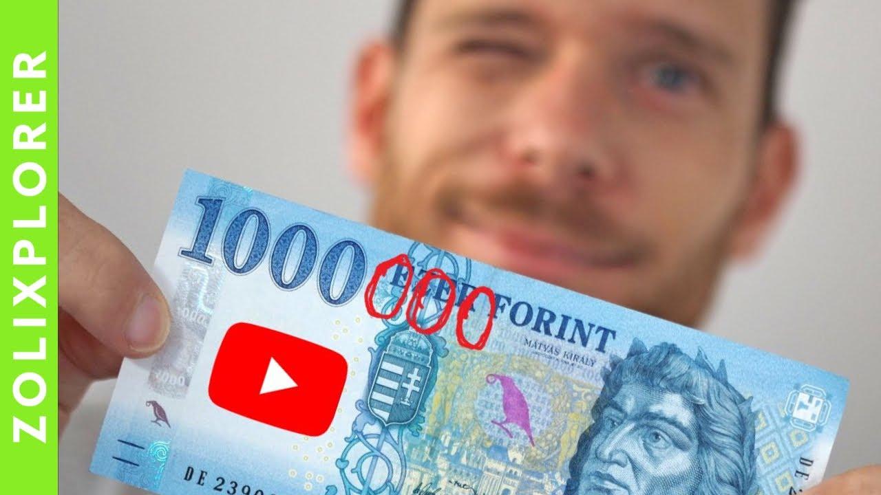 pénzt keresni a videókért