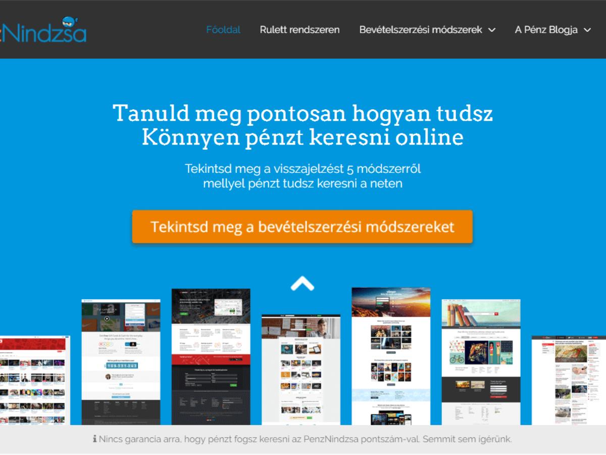 internet pénzt keresni)