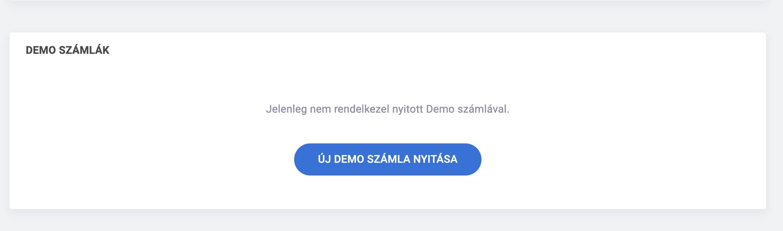 mt5 demo számla megnyitása