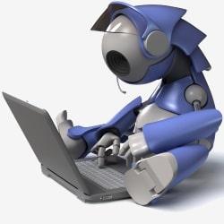 robotokkal kereskedni)