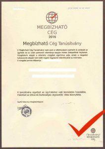 AAA minősítéssel Magyarországon! - PENTATRADE