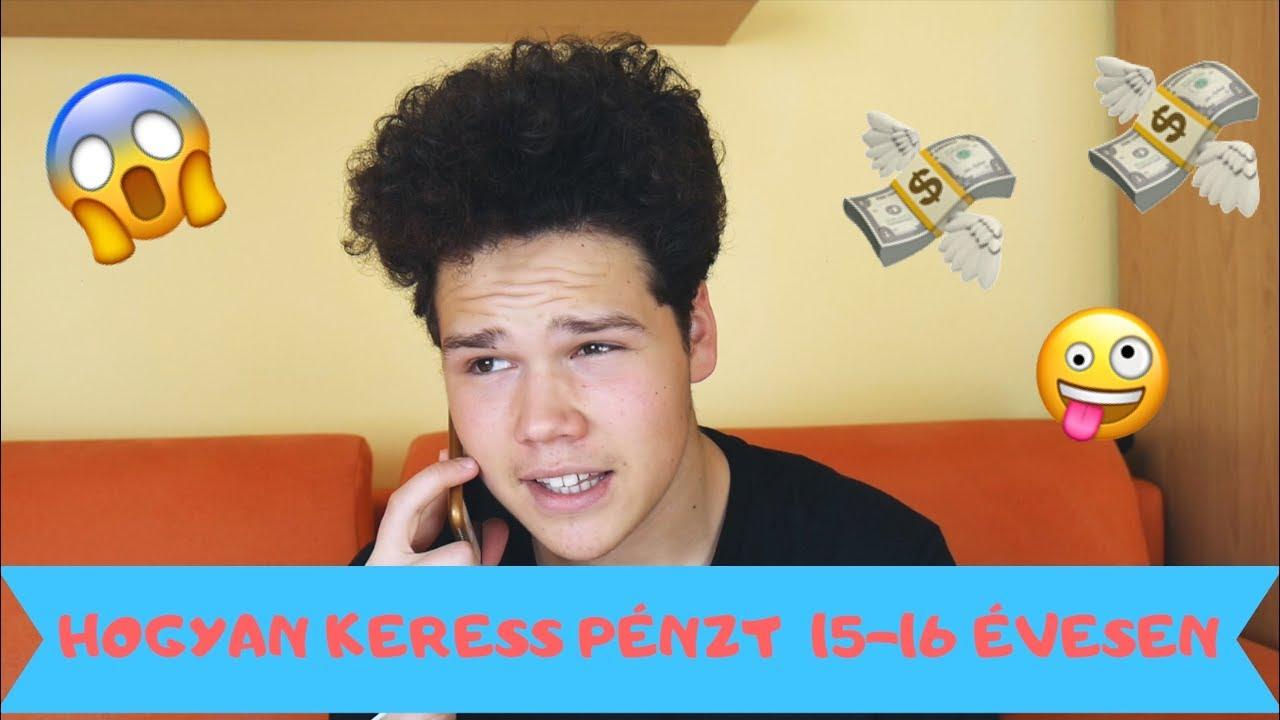hogyan lehet pénzt keresni 14 évesen az interneten
