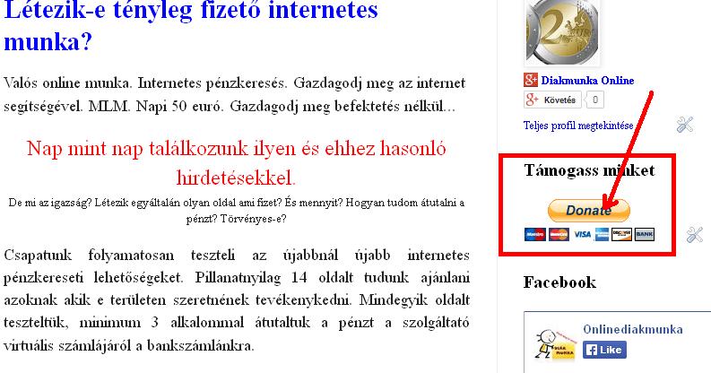 valós kereset az interneten lehetséges)