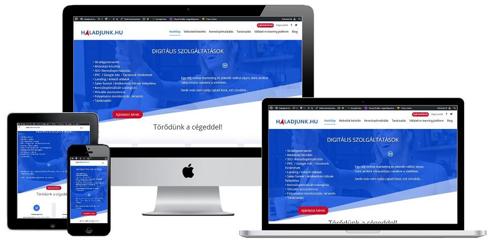 Keresőoptimalizált weboldal készítés WordPress-ben