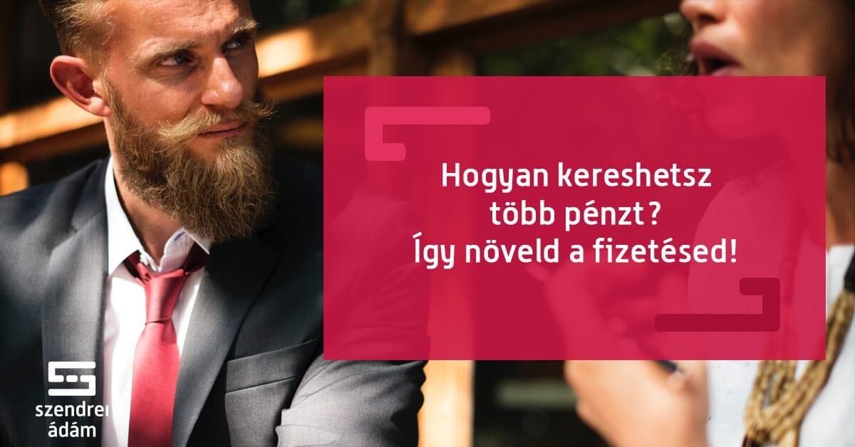 az ember pénzt keres)