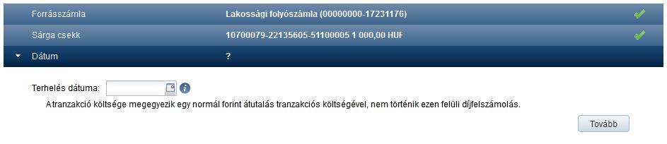 demo számla kiválasztása)