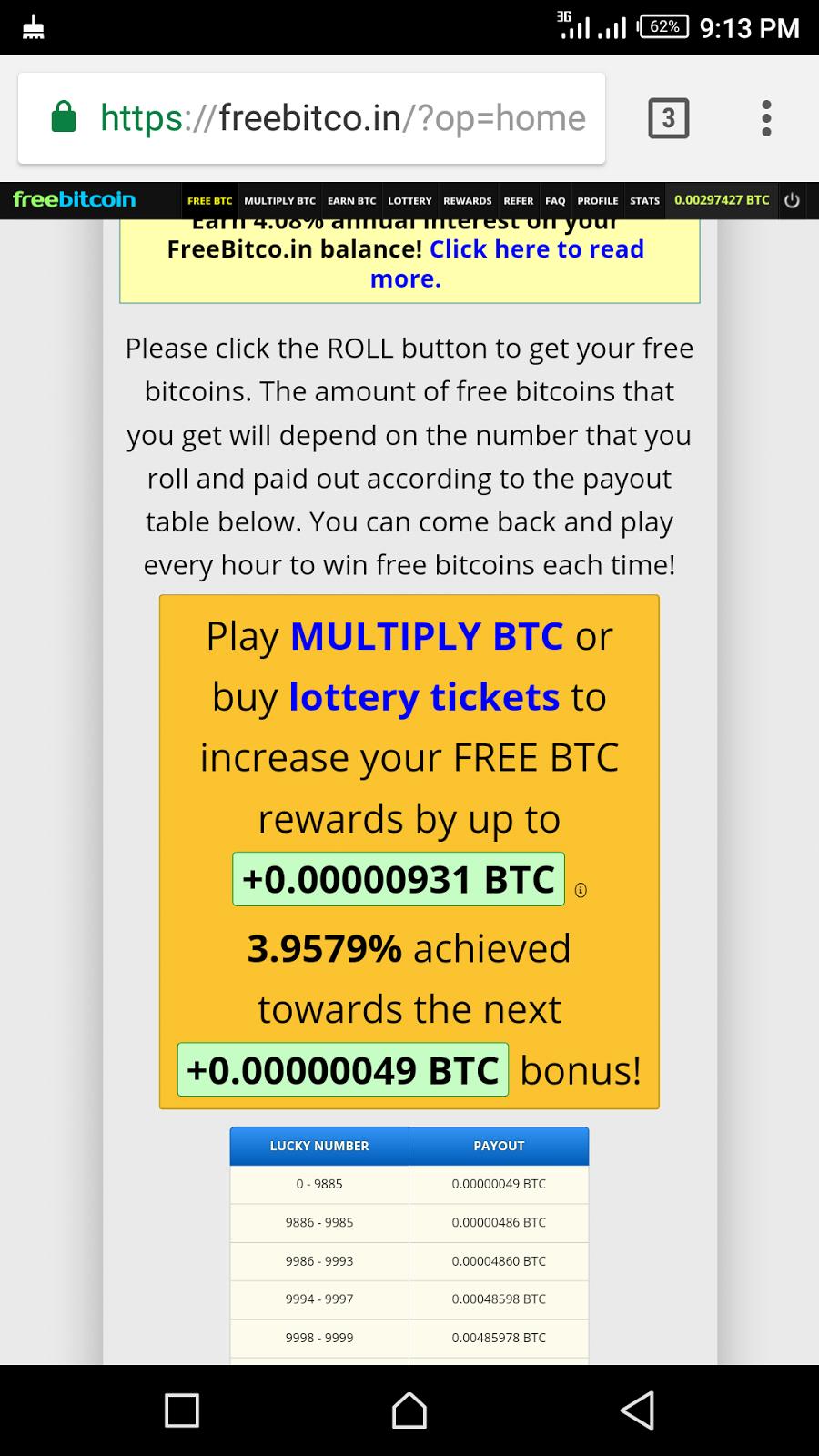 bitcoin freebitco in