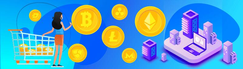 bitcoinokat vásárolni és keresni rajtuk