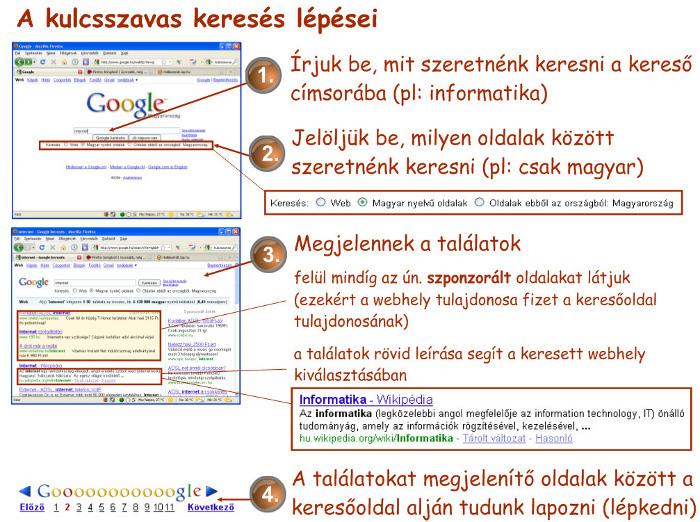 internetes keresetek az interneten)