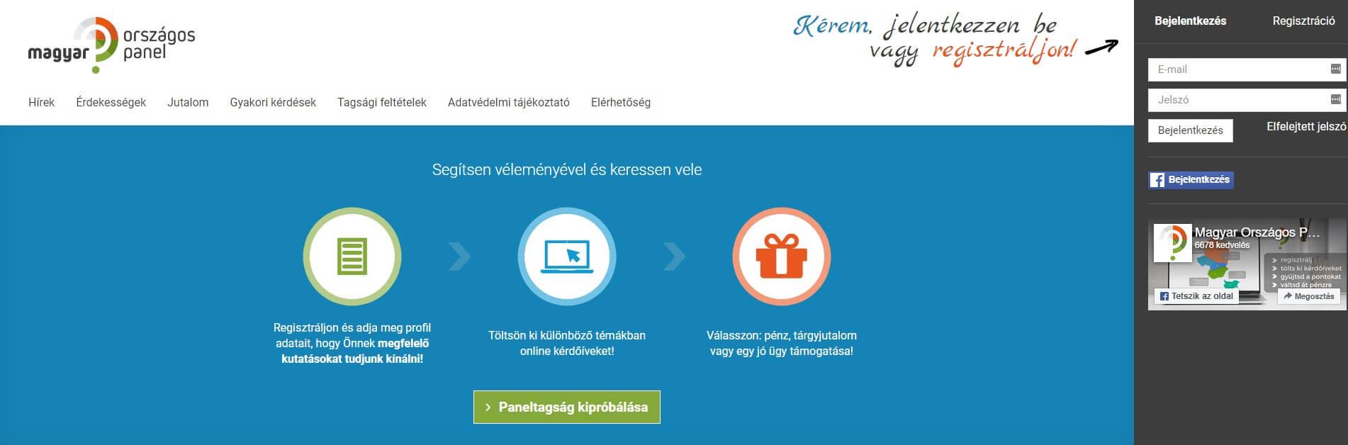 egy weboldal, ahol gyorsan pénzt kereshet és)