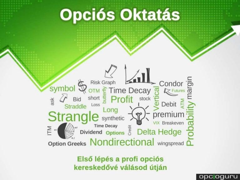 Bináris opciós kereskedési tanfolyamok