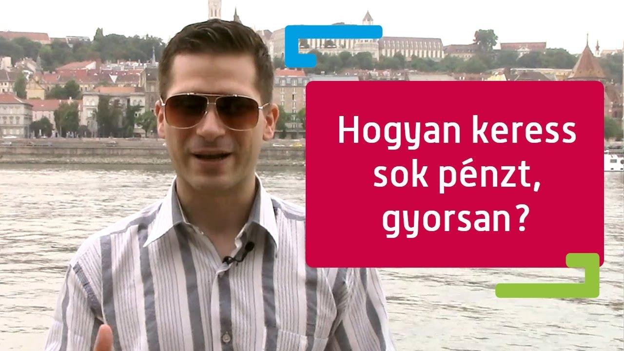 sok pénzt keresni most)